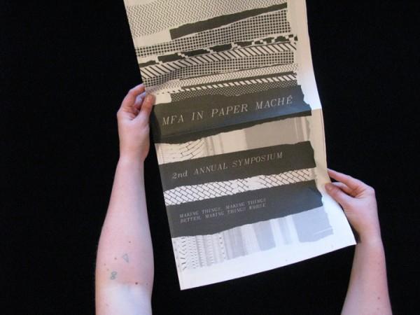 MFA in Paper Maché