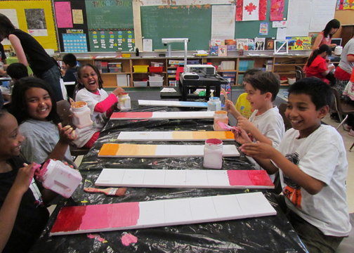 Making our own colour bars