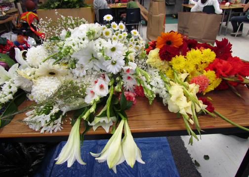 flower sorting