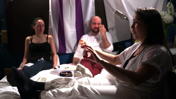 Reena Katz <em>love takes the worry out of being close: public assemblies in bed with queers</em>, 2013